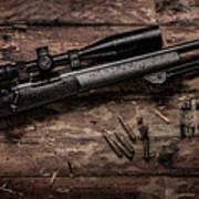 Winchester M70 Art Print