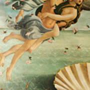 Wind God Zephyr Art Print