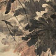 Wind In The Lotus Art Print