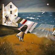 Wind Of Change. Art Print