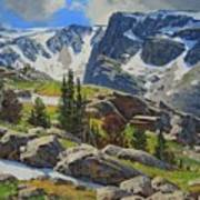 Wind River Range-wyoming Art Print