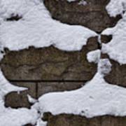 Windblown Snow Art Print