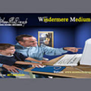 Windermere Medium Art Print