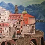 Winding Roads Of Italy Art Print