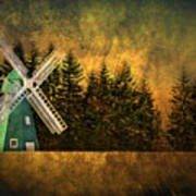 Windmill On My Mind Art Print