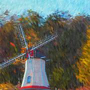 Windmill Series 1102 Art Print