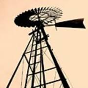 Windmill Standing Tall Art Print