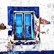 Window 17 Art Print