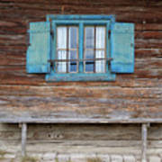 Window And Bench Art Print by Yair Karelic