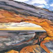 Window Arch Art Print