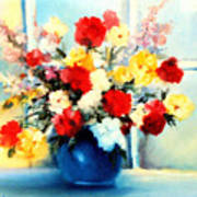 Window Bouquet Art Print