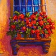 Window Box  Art Print