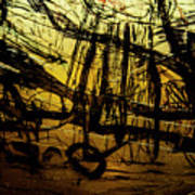 Window Drawing 06 Art Print