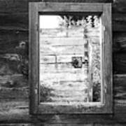 Window Frame Art Print