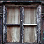 Window In Old Building Art Print