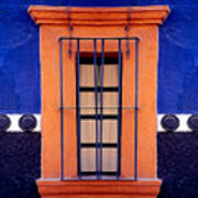 Window In San Miguel De Allende Art Print