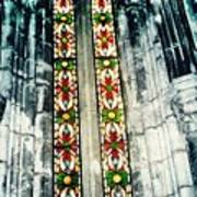 Window In The Lisbon Cathedral Art Print