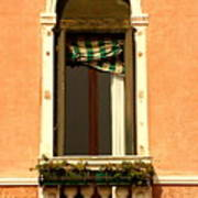 Window In Venice Art Print