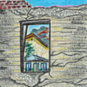 Window Jerome Az Art Print