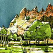 Window Rock Arizona Art Print