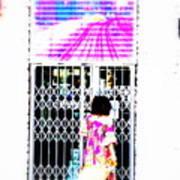 Window Shopping Lyon Style Art Print