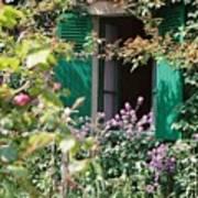 Window To Monet Art Print