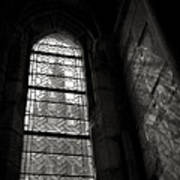 Window To Mont St Michel Art Print by Dave Bowman