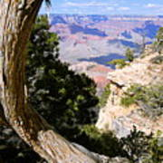 Window To The Past 21 - Grand Canyon Art Print