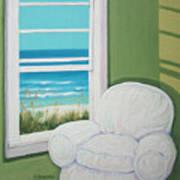 Window To The Sea No. 2 Art Print
