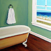 Window To The Sea No. 4 Art Print