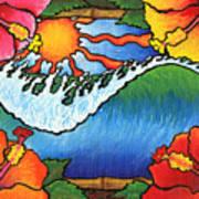 Window To The Tropics Art Print
