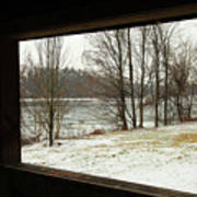 Window To Winter Art Print