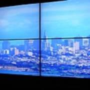 Window View Of San Francisco Art Print
