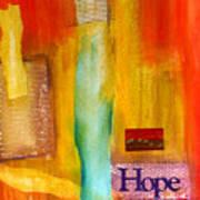 Windows Of Hope Art Print