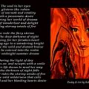 Winds Of Fire - Poetry In Art Art Print