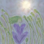 Windsitter Spring Breeze Art Print