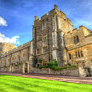 Windsor Castle Architecture Art Print