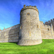 Windsor Castle Battlements  Art Print