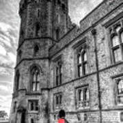 Windsor Castle Coldstream Guard Art Print