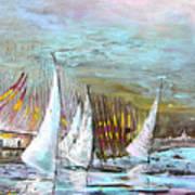 Windsurf Impression 03 Art Print