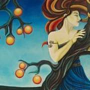 Windswept Eris Art Print
