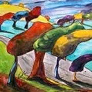 Windswept Morning Art Print