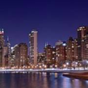Windy City Lakefront Art Print