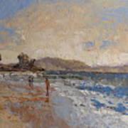 Windy Day At Sea Art Print