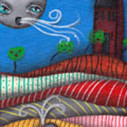 Windy Evening Art Print