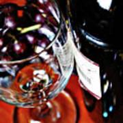 Wine And Dine 1 Art Print