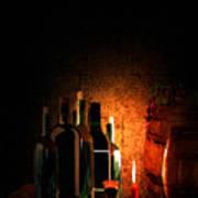 Wine And Leisure Art Print