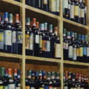 Wine Closet Art Print