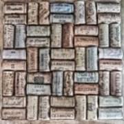Wine Corks Art Print