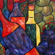 Wine In Color Art Print